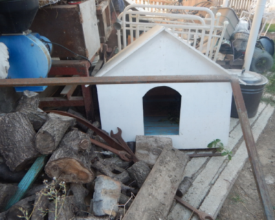 Крымчанин хранил коноплю в собачьей будке