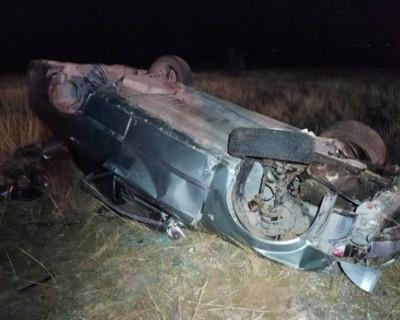Автомобиль Chevrolet попал в ДТП в Бахчисарайском районе