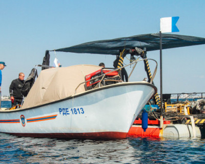 В Крыму завершили работы на затопленном теплоходе «Жан Жорес»