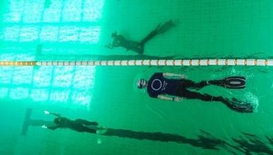 Скользящие под водой. 174 метра на одном дыхании (фото, видео)