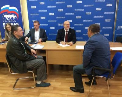 Сенатор Андрей Соболев провел прием в Севастополе