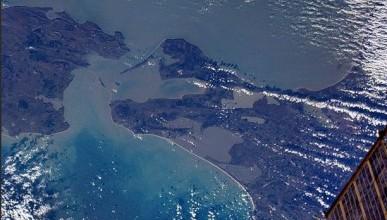 Керченский пролив из космоса (фото)