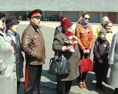 Севастопольские ветераны на 35-й батарее (фото, видео)