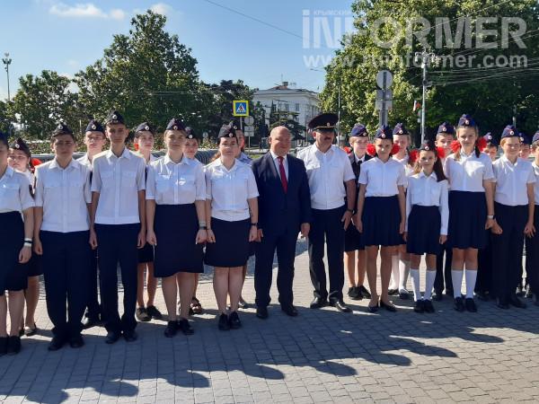 В Севастополе прошел показ полицейской техники 3