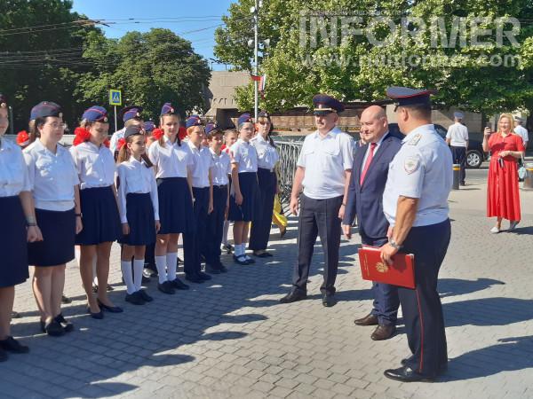 В Севастополе прошел показ полицейской техники 2