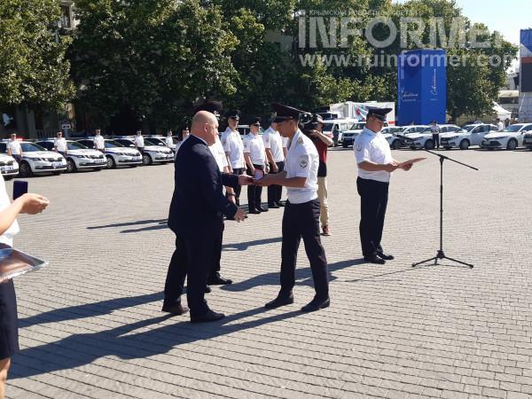 В Севастополе прошел показ полицейской техники 6
